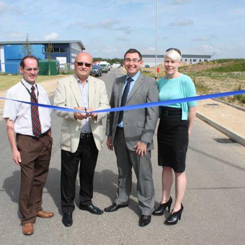 A47/A143 link road opens
